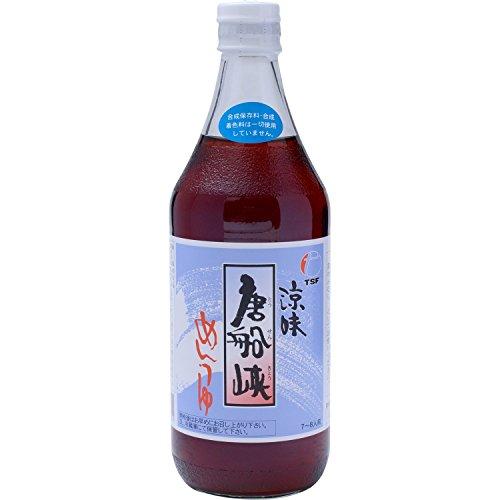 8位:唐船峡食品『めんつゆ』500ml×3本
