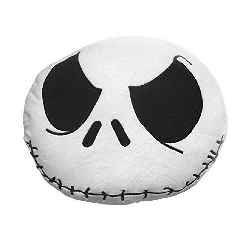 Pesadilla antes de Navidad Jack Skellington almohada cráneo alrededor de 36cm sabe Disney