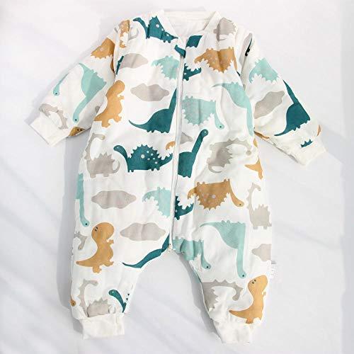 flqwe Baby Jongen Meisje Draagbare Deken, Slaapzak, Gewatteerde baby slaapzak met gespleten benen, Pasgeboren Baby Swaddle Deken Wrap Slaapzakken
