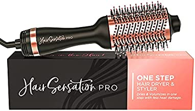 Hair Dryer Brush, Blow Dryer Brush in One - Salon Quality Blowouts with Fast Drying & Volumizing Styler - Perfect One Step Brush Hair Dryers for Women