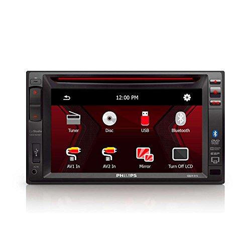 Philips Zedern-1500bttt-T multimedia met touchscreen 6.2 zwart