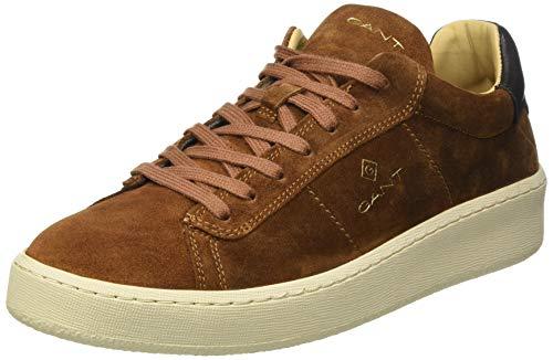 GANT Herren LEVILLE Sneaker, Cognac, 40 EU