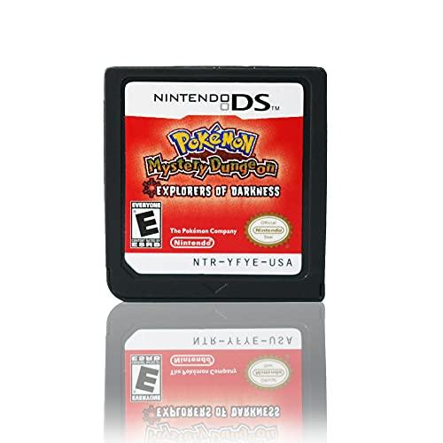 JPEEFER Cartucho de Juego para Nintendo DS REN Tian DS Pokemon Ranger Pokemon Tarjeta DSI 2DS 3D S Tarjeta de Juego Nintendo 3DS Games Nintendo DS (Tamaño : Pokemon - Explorers of Darkness)