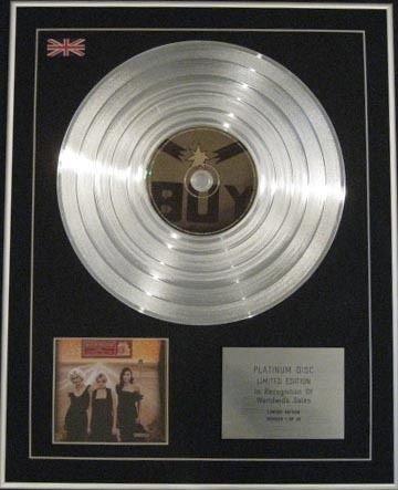 Dixie Chicks–Ltd Edition CD Disc-Platin–Home