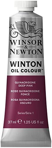 Winsor & Newton 1414250 Winton Oil Color Paint, 37-ml Tube, Quinacridone Deep Pink
