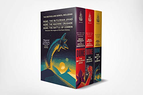 Dune Boxed Set #1 (2019): The Butlerian Jihad, the Machine Crusade, the Battle of Corrin