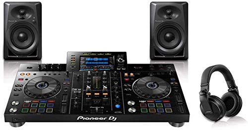 Pioneer Pro DJ Bundle with XDJ-RX2 + DM-40 Set + HDJ-X5 Headphones