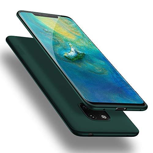 X-level für Huawei Mate 20 Pro Hülle, [Guardian Serie] Soft Flex TPU Hülle Superdünn Handyhülle Silikon Bumper Cover Schutz Tasche Schale Schutzhülle Kompatibel mit Huawei Mate 20 Pro - Grün