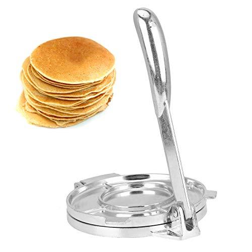 Tortilla Press Maker, aleación de aluminio, plegable, harina de maíz, masa, pastelería, prensa, herramienta, utensilios de cocina, utensilios para hornear 22 * 16CM