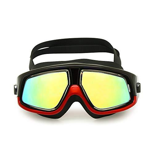 EnzoDate Myopia Hyperopia Schwimmbrille Sportbrille Optische Schnorchelmaske Tauchen Scuba Anti-Fog Free Ohrstöpsel