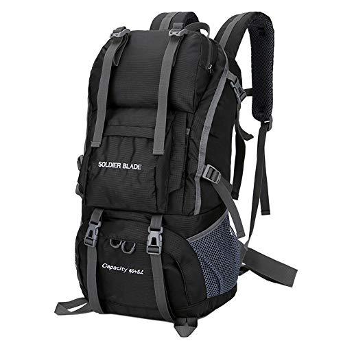 Lixada Mochila de Senderismo 50L Gran Capacidad Impermeable Mochila para Alpinismo Viaje Acampada Trekking Deporte