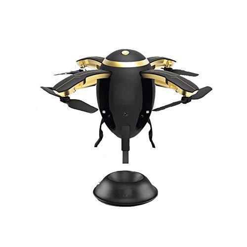 LIUCHANG Mini Drone For Kids, RC Nano Quadcopter con/Altitud Hold, Modo sin Cabeza, con Sensor de Gravedad, Control de Voz, Control de Gesto, Hold Altitud, for Principiantes Negro liuchang20