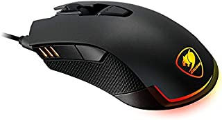 Cougar Revenger Wired USB Optical Gaming Mouse with 12,000 DPI, Black (CGR-WOMI-REV)