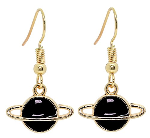 Bluebubble SPACE AGE Planet Earrings With FREE Gift Box