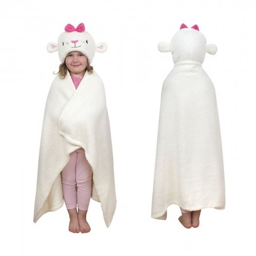 Disney Doc Mcstuffin Cuddle 100% Polyester One Size Robe