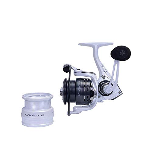 CS4 Spinning Reel Match,Cadence Strong Ultralight Carbon Frame Fishing Reel with 8 Low Torque Bearings Super Smooth Powerful Fishing Reel Spinning with 16 Lb Carbon Fiber Drag & 6.2:1 Gear Ratio Reel