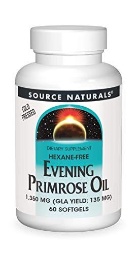 Source Naturals Evening Primrose Oil - Hexane-Free - 1350mg - GLA...