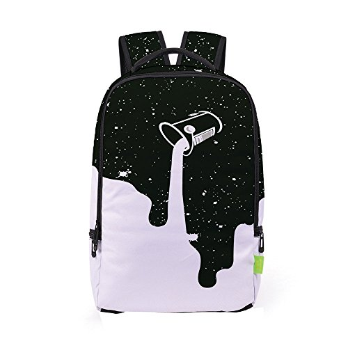 3D Printed School Backpacks School Bag Travel Rucksack For Boys Girls Makaor -  -