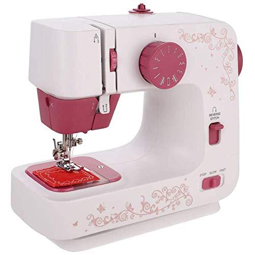 POWER BANKS Mini-Nähmaschine, Anfängernähmaschine, mit Fußpedal, Miniatur-Hausnähmaschine für das Wohnzimmer im Arbeitszimmer