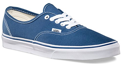 VANS Unisex Authentic Navy Canvas VN000EE3NVY Mens 8, Womens 9.5