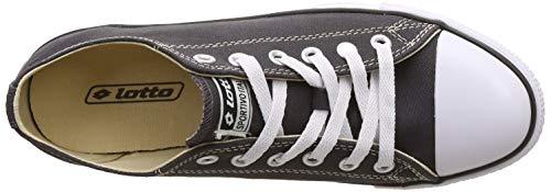 Product Image 5: Lotto Men's Atlanta Neo Dark Grey/White Sneakers