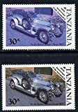 Tanzania 1986 Centenary of Motoring 30s Rolls Royce Silver Ghost with yellow omitted, plus normal u/m (as SG 459) CARS ROLLS-ROYCE JANDRSTAMPS