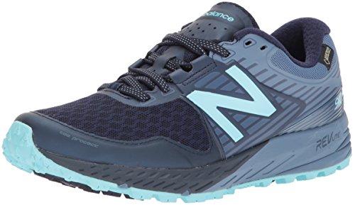 New Balance Wt910v4 Gore-Tex, Zapatillas de Running para Mujer, Azul (Navy/lightblue), 41.5 EU