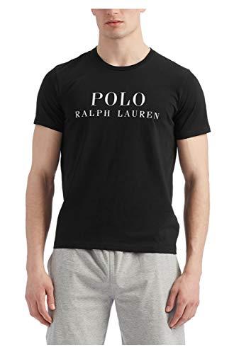Ralph Lauren 714830278007 - Camiseta de manga corta para hombre, color negro Negro Large