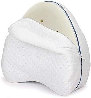 Patabit -Almohada para Piernas Dormir De Lado | Cojin para Dormir Entre Las Piernas | Almohada Rodillas para Dormir | Almohada para Embarazadas Memory Foam Dimensiones 22 X 23 X 13 Cm Peso 280 G