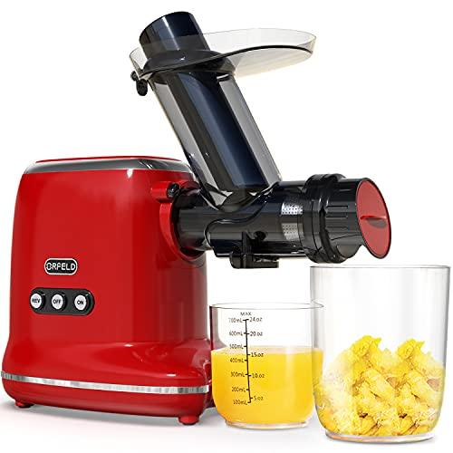 Juicer Machines, ORFELD Cold Press Juicer with 90% Juice...