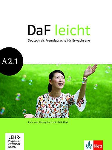 DaF leicht A2.1: Deutsch als Fremdsprache für Erwachsene. Kurs- und Übungsbuch mit DVD-ROM (DaF leicht: Deutsch als Fremdsprache für Erwachsene)