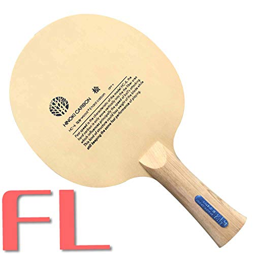 SANWEI HINOKI Carbon HC6S Table Tennis Racket Blade (5ply Wood + 2hard Carbon) Off+