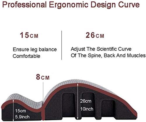 Pilates Arc Barrel, Spine Alignment Corrector Pilates Massage Tisch Bad, Yoga Arch Roller Fitnessgeräte, Biegung Haltung der Wirbelsäule Correction Support Wirbelsäule Rückseiten-Rücken 3-9
