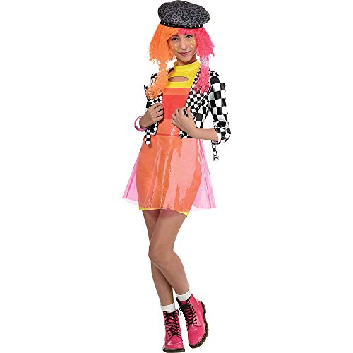 Party City O.M.G. Neonlicious Halloween Costume for Kids, L.O.L....