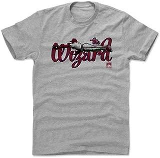 メジャーリーグ セントルイス・カージナルス オジー・スミス 500Level Player Art Cotton T-Shirt (グレー)
