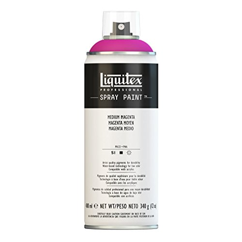 Liquitex Professional - Acrílico en spray, 400ml, magenta medio