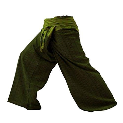 Your Cozy Pantalones de Pescador de 2 Tonos 38 - Tamaño de Variación DE 44 Pulgadas para Yoga y Estilo Casual (DGGM)