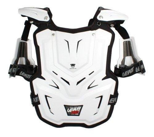 White,Adult Leatt Unisex-Adult Chest Protector