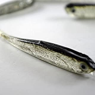 Fishing Lures - Bass Lures Fishing Lures Bait Banjo Minnow Best Soft Baits Lure Eyes Twitching - Grey Soft Silicone Fishing Lure Bait Freshwater Saltwater - Fishing Lures For Bass Soft Baits - 1PCs