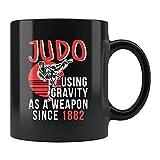 N\A Taza de Judo, Judo Gift, Judo Coffee Mug, Judo Lover Gift, Judo Trainer Mug, Judo Trainer Gift, Judo Fan Mug, Judo Practice Mug