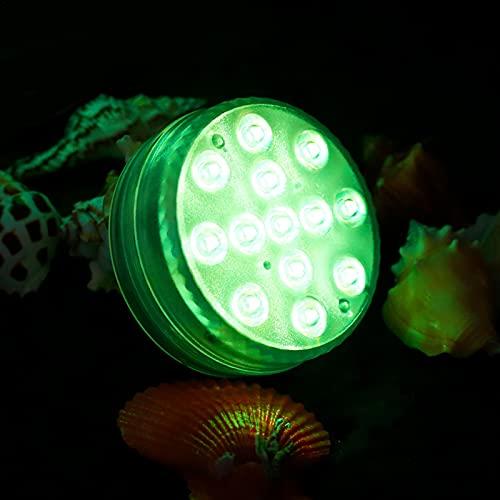 Luces De Piscina LED, 16 Lámparas De Piscina Que Cambian De Color Con Control Remoto Por Bluetooth, Luz Subacuática A Prueba De Agua IP68 Con Ventosas De Imanes Para Acuario/Estanque/Piscina