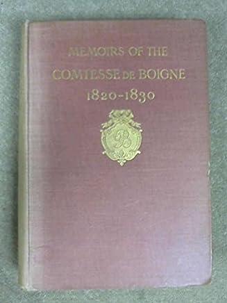 Recits D`Une Tante: Memoires de la Comtesse de Boigne. III: 1820-1830.