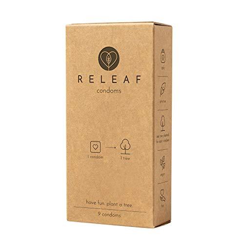 Releaf - Kondome fürs Klima - jedes Kondom pflanzt einen Baum - fair, nachhaltig, vegan