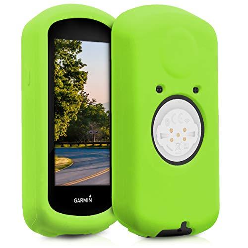 kwmobile Carcasa GPS Compatible con Garmin Edge 1030/1030 Plus - Funda de Silicona para navegdor de Bici - Verde
