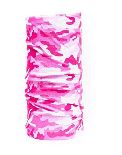Nexi Multifunktions Tuch Schlauchtuch - universell einsetzbar als Schal, Kopftuch, Kälteschutz - Multicolour M09