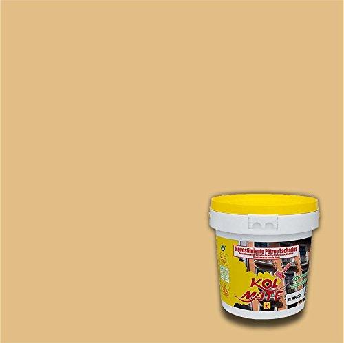 Revestimiento Pétreo de Fachadas KOLMATE. Pintura especial para fachadas (5 kg, arena)