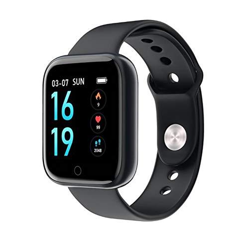 DIDIOI Smart-Uhren, Herzfrequenzmesser Smart Watch Frauen Männer Fitness Tracker Sport IP68 wasserdichte Smartwatch Für Android IOS,A1
