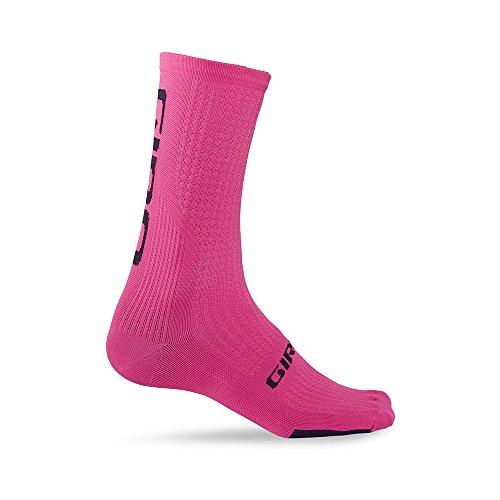 Giro Calcetines HRC Team Rosa-Negro - Talla: M (40-42)