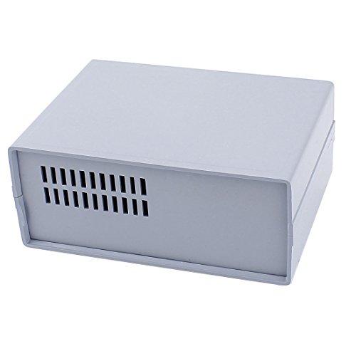 sourcingmap 165mmx120mmx68mm Gray Alloggiamento Case FAI DA TE Elettronico Cablaggio Progetto Scatola