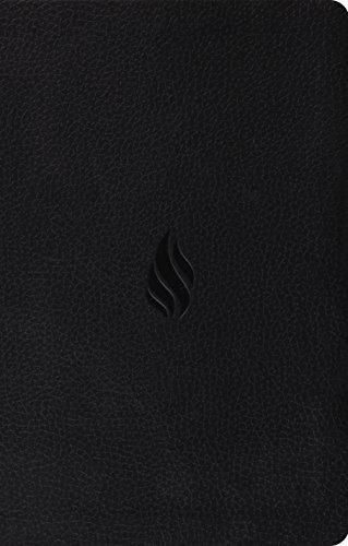 ESV Premium Gift Bible (TruTone, Midnight, Flame Design)